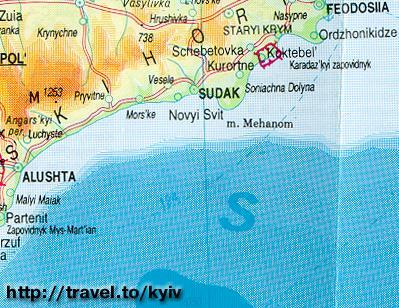 The Crimean Peninsula - Sudak, the Clan fishing site