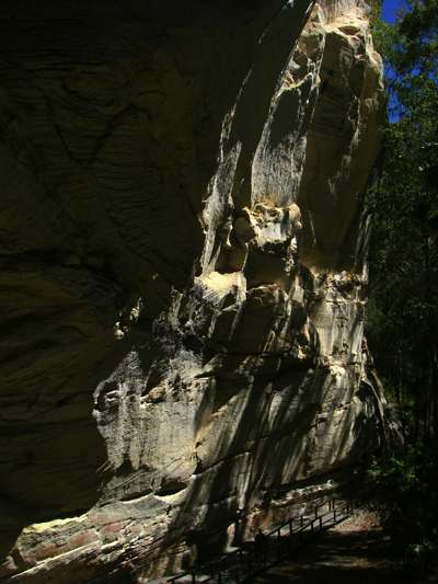 Cathedral Cave sandstone