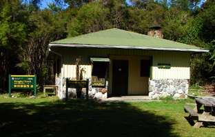 Heaphy Track, Brown Hut
