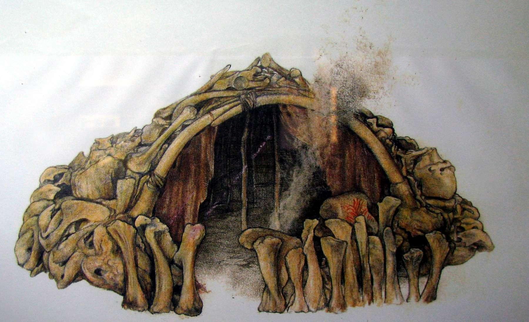 Mezhirich Mezhyrich Mejiritch Mammoth Camp Wiring Diagram Bone Hut