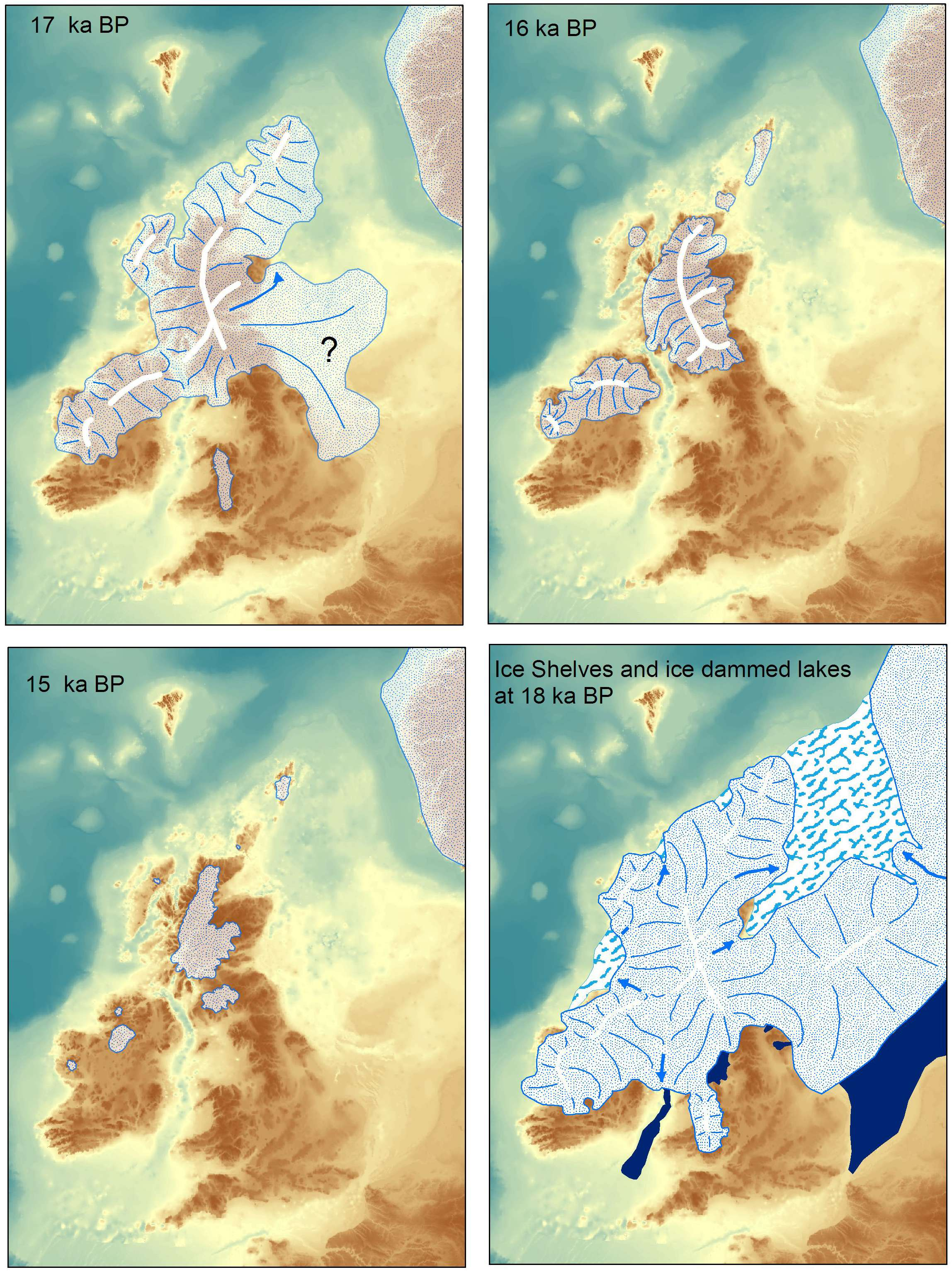 Recent Years in the UK end of Glaciation