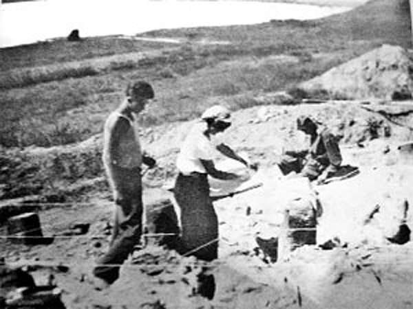 Buret excavation