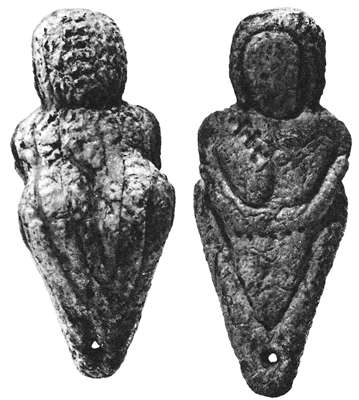 Female figurine, Mal'ta