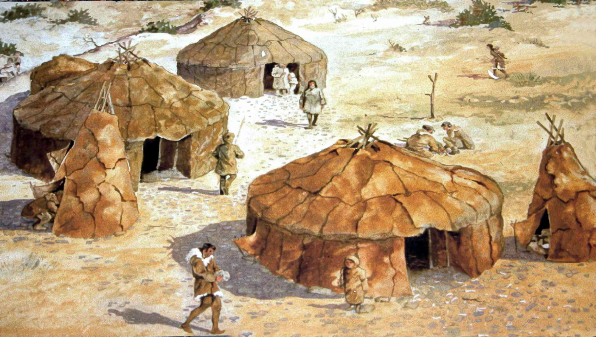 the findings from the paleolithic age in africa Stone tools from india fan debate over origins of cultural complexity the middle stone age in africa and the middle paleolithic in eurasia findings from.