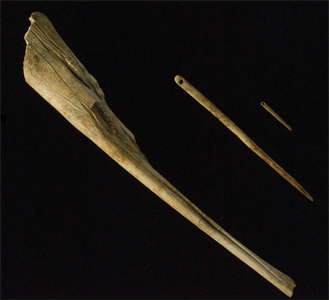 bone needles