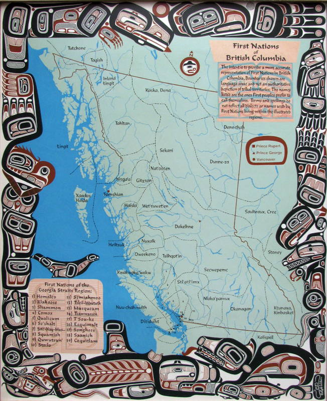 The First Nations Of The Pacific Northwest Totem Poles