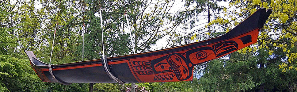 Pacific North West canoes