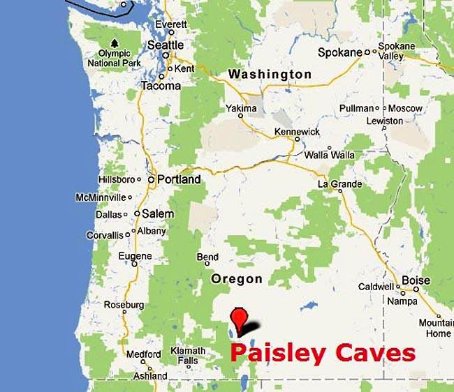 The Paisley Caves complex   when did people first reach North America?