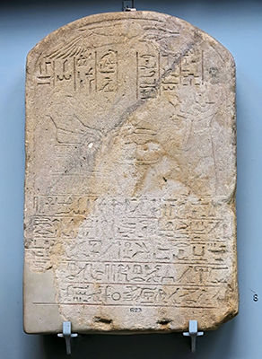 Sandstone stela of Usersatet