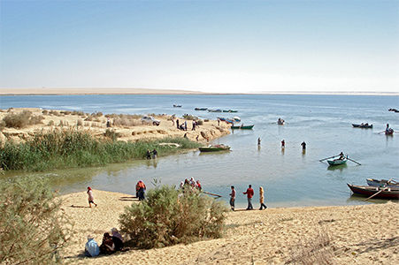 The Fayum Lake