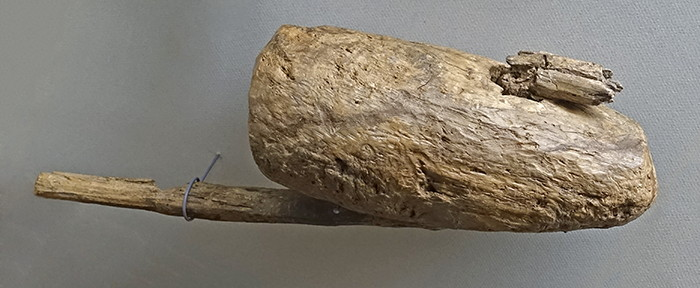 wooden axe and handle