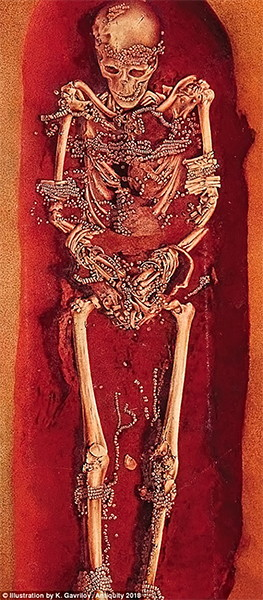 Sungir burial painting