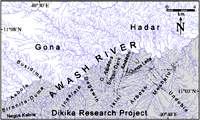 streams map dikika