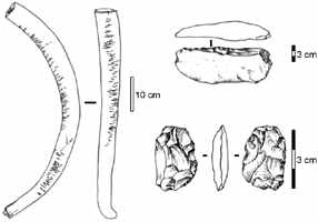 Kurya tusk and tools